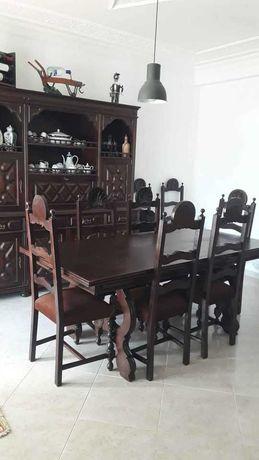 Móveis Madeira Baratos - Sala mesa cadeiras