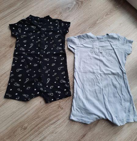 piżamki sinsay chłopiec roz. 80