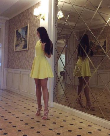 Жовте плаття