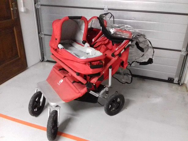 Wózek easywalker podwójny wraz z gondolą