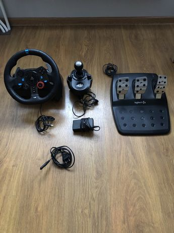 Kierownica Logitech G29 + skrzynia, kompletny zestaw PC/PS3/PS4, Drift