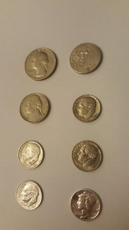 Stare monety z USA