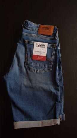 Spodnie shorty Tommy Hilfiger Jeans szorty