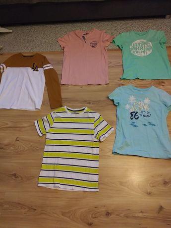 Koszulki t-shirty letnie. Podkoszulki krótki rękaw