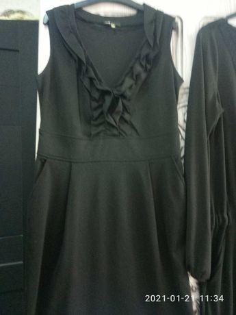 Платье трикотажное,  без рукава