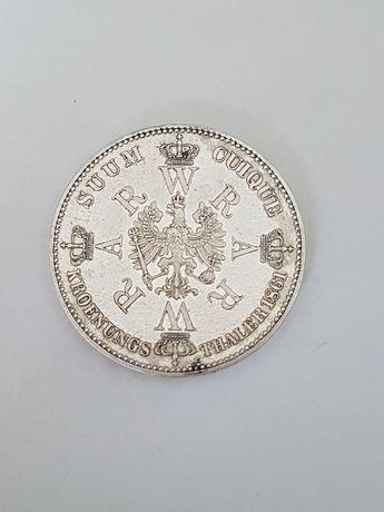 Moneta srebrna thaler 1861
