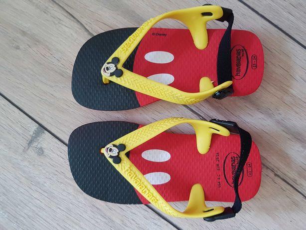 Sandały Havaianas 23 Myszka Mickey