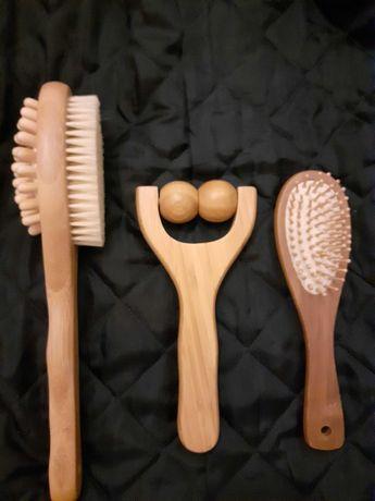 Conjunto de massagem e esfoliação com ofertas