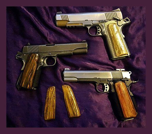 okładziny do rękojeści -chwytu Colt