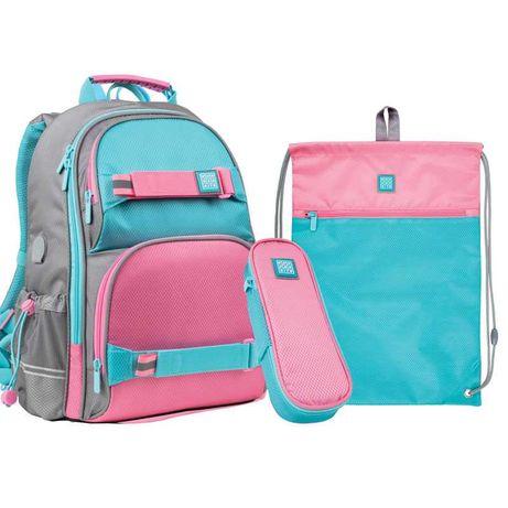 Набор рюкзак KITE + пенал + сумка для обуви set_wk21-702m