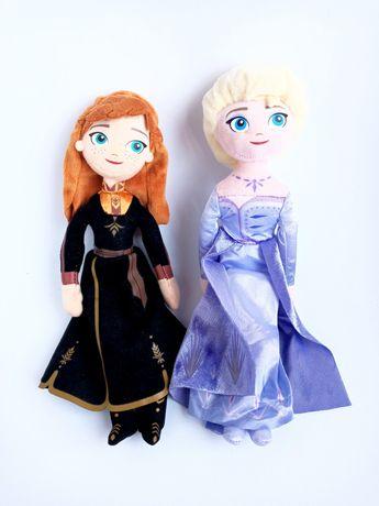 Frozen Lalki pluszowe Elsa i Anna komplet lalek Kraina Lodu NOWE