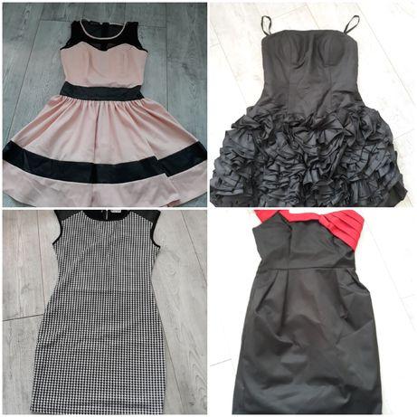 Paka ubrań rozmiar M  sukienka, koszula, spódnica,  spodnie