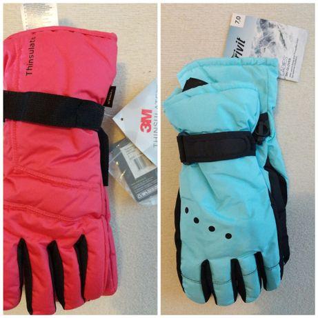 Перчатки женские детские Thinsulate зимние сноуборд лыжные термо