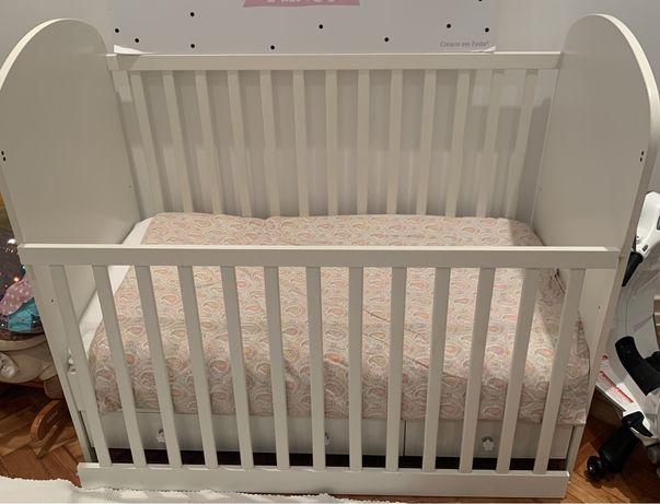 Berço/cama de grades Gonatt