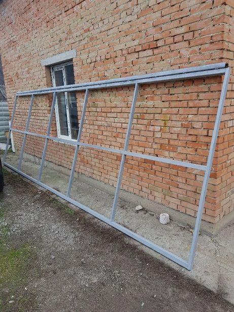 Продам ворота откатные 6,2м на 2,2 метра