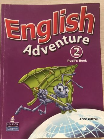 English Adventure pupils book 2 Anne Wirral