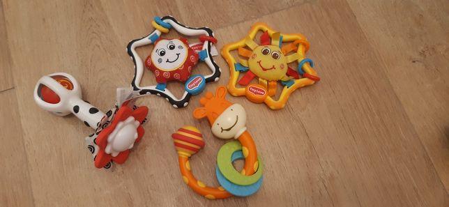 Tiny Love zabawki grzechotki sensoryczne jak nowe