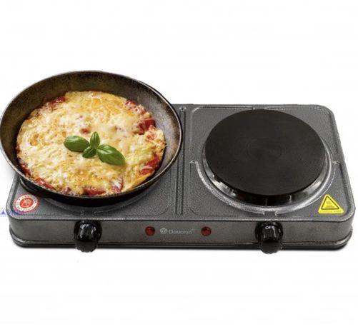 Новая электроплита Domotec 2000W дисковая настольная Плита печь плитка