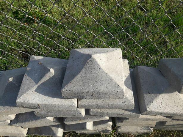 daszki cementowe/betonowe na ogrodzenie 50szt