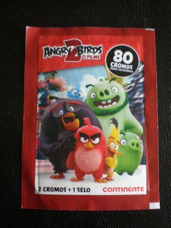 120 saquetas cromos de Supermercados Angry Pico Pata