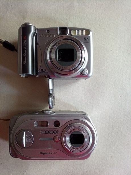 Цыфровые фотоапараты под восстановление или на з/п