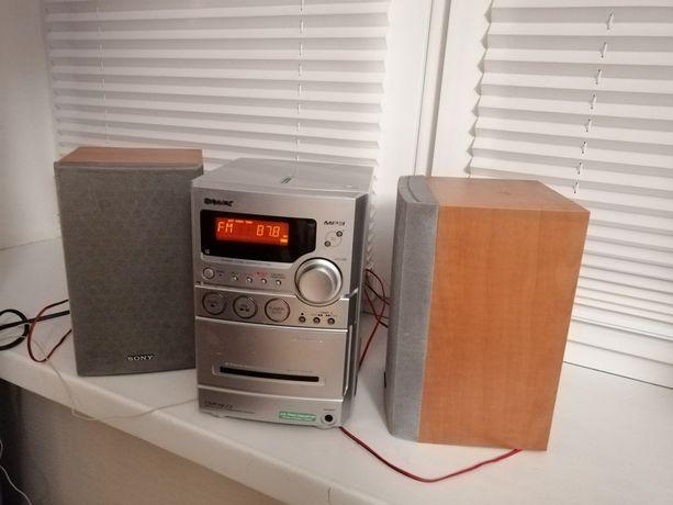 Wieża Mini Sony cd tuner kaseta