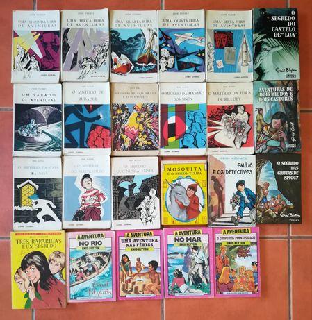 25 Livros Enid Blyton, Noddy, Uma Aventura, e outros...