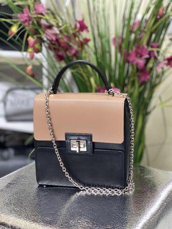 Кожаная сумочка шикарного качества! Новая! Супер цена!