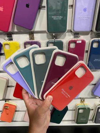 Silicone case чехол на айфон iphone 12 Силікон кейс