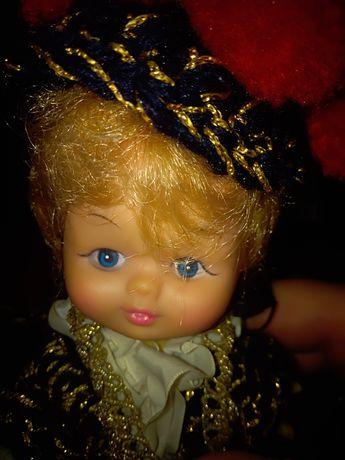 Stara lalka laleczka Unikat PRL