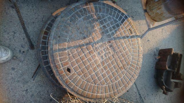 Kratka ściekowa właz kanalizacyjny