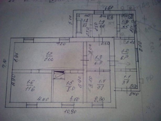 Продается дом в Лутугинском р-не пгт. Челюскинец