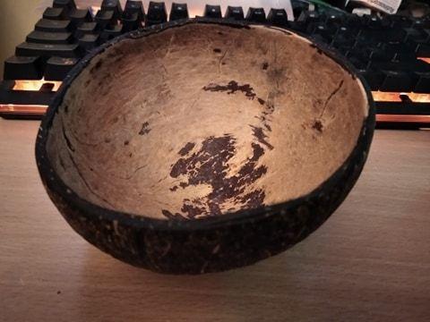 miseczka z kokosa