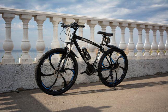 Крутой велосипед на литых дисках 26 BMW стальная рама 17 СУПЕР ЦЕНА!