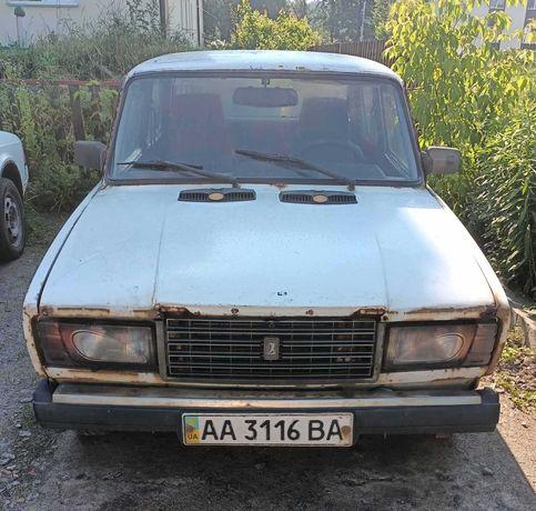 Продам ВАЗ-2107 на уверенном ходу