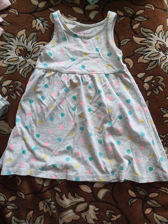 Сарафан, футболки на девочку 2-3 года