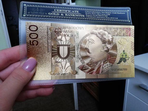 500 złoty certyfikat