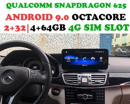 """Sistema multimédia Mercedes W212 Android 9.0 10.25"""""""