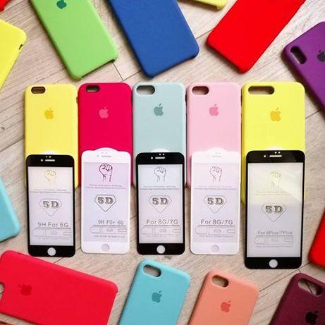 Чехол чохол silicone case на для айфон iphone 6 6+ 7 7plus 8