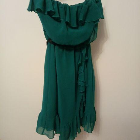 Sukienka bez ramiączek H&M r.38