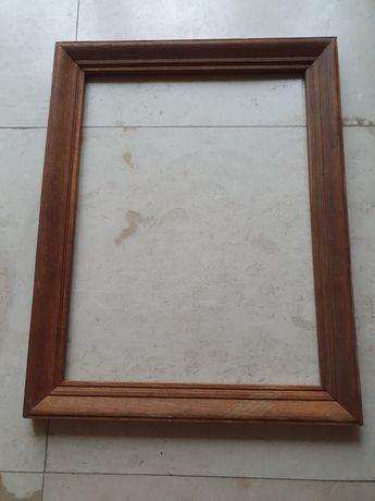 Rama drewniana 54x68 cm, lite drewno