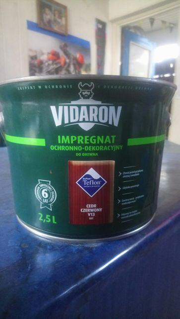 Vidaron 2,5 litra impregnat lakobejca do drewna różne kolory