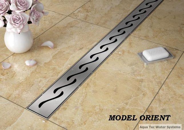 Odpływ liniowy Aqua Tec model Orient 90 cm zestaw PROMOCJA POLSKI PRO