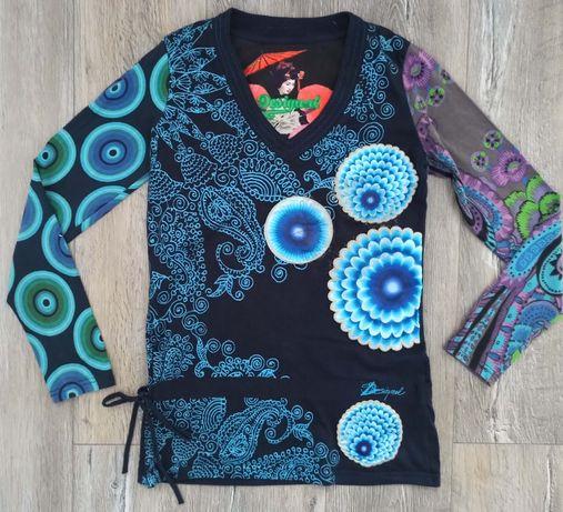 Bluzka DESIGUAL M MEGA kolory !