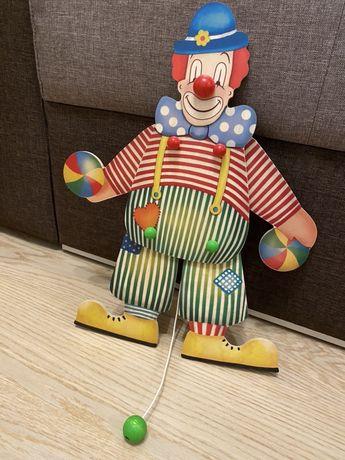 BAJO Дерев'яна іграшка Клоун Janod Goki Viga Toys