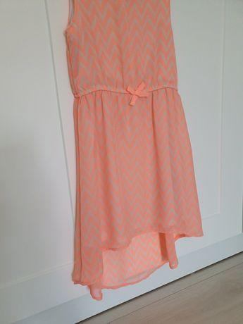 Sukienka łososiowa HM 128