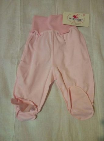 Ползунки новые, повзунки Фламинго 56р легенькие тоненькие