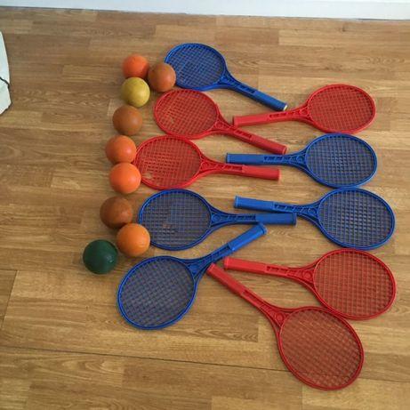 Raquetes mini- Tenis- aprendizagem