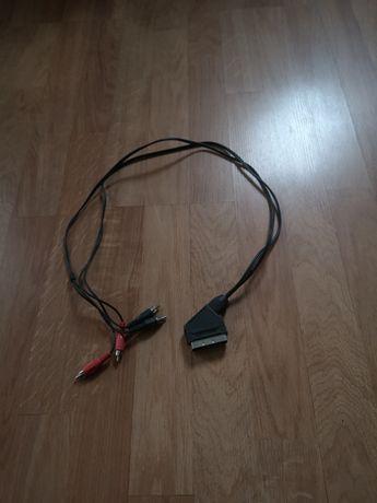 Kabel Euro-4xchinch 0,95m
