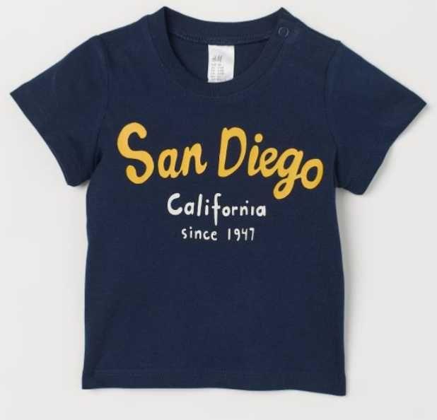 Nowy t-shirt dziecięcy r. 86 Pogórze - image 1